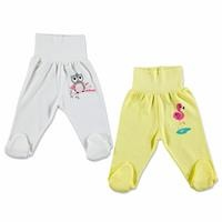 Baby Girl Comfort Waist Footed Pant 2 pcs