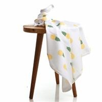 Summer Pineapple Patterned Baby Multipurpose Blanket