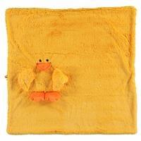 Duck 2D Plush Baby Blanket 75x75 cm
