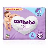 Size 4 Maxi Baby Diaper Economic Pack 7-14 kg 40 pcs