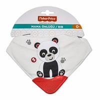 Panda Scarf Teething Bib