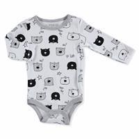 Baby Printed Long Sleeve Bodysuit