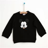 Mickey Mouse Siyah Sweatshirt