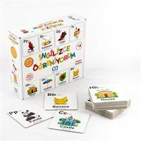 Learning English Educational Cards 52 pcs 3 Years+
