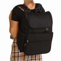 Multipurpose Quilted Backpack Bag