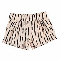 Patterned Baby Girl Pleated Short