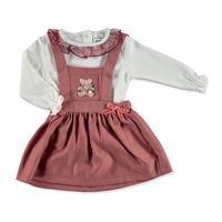 Kış Kız Bebek Elbise Body