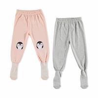 Basic Bebek 2li Çoraplı Pijama Pantolon