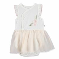 Summer Baby Girl Maya Supreme Crew-Neck Dress Bodysuit