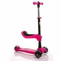 Oturaklı Scooter Pembe