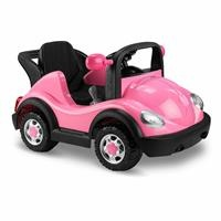 W431R Remote Control 12V Battery Powered Car - Pink