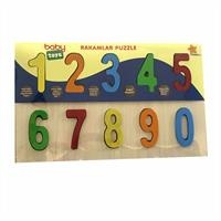 Wooden Baby Numbers Puzzle
