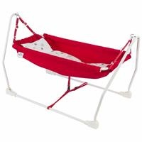 Marmaris Foldable Baby Hammock Red