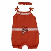 Summer Baby Girl Lacy Detailed Jumpsuit