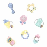 Baby Rattle Set 8 pcs