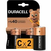 Alkaline C Battery 2 Pieces