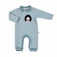 Joy Baby Polo Neck Zippered Romper