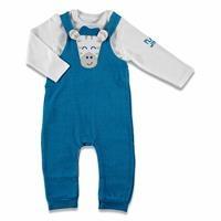 Bebek Benimle Oynarmısın Sweatshirt Salopet 2'Li Takım