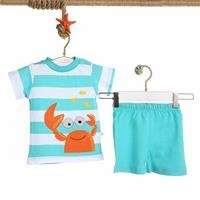 Baby Boy Striped Boy Tshirt Short