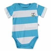 Summer Baby Boy Plane Group Supreme Short Sleeve Bodysuit