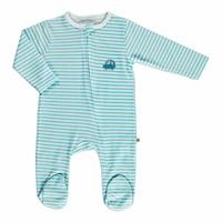 Summer Baby Boy Gravel Supreme Crew-Neck Romper