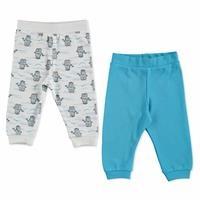 Summer Baby Basic Empirme Printed Pants 2 pcs