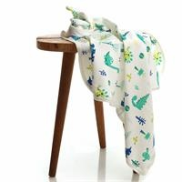 HelloBaby Summer Dino Patterned Baby Multipurpose Blanket