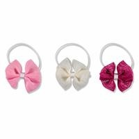 Baby Cute Bowtie Hairgrip 3 pcs