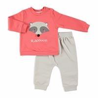Bebek Eğlenceli Orman Pijama Takım