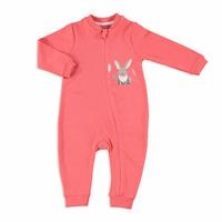Fun Forest Baby Zippered Footless Romper