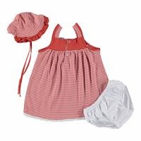 Hat Panty Detailed Baby Girl Dress