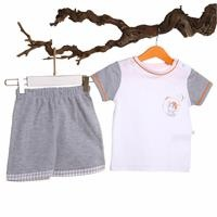 Woody Crew Neck Tshirt Short Set