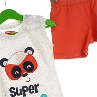 Super Heroes Baby Athlete Short Set