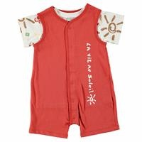 Erkek Bebek Soleil Tema T-Shirt Salopet Takım