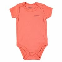 Logo Colored Baby Short Sleeve Bodysuit
