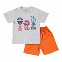 Bebek Kısa Kollu Şortlu Pijama Takımı