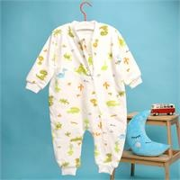 Winter Baby Boy Basic Sleepsuit Romper