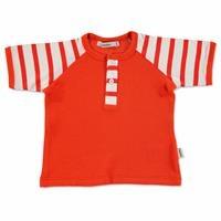 Summer Baby Striped Supreme Crew-Neck T-shirt