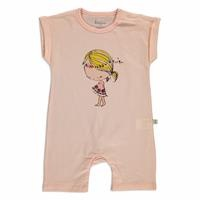 Summer Baby Girl With Flowers Supreme Jumpsuit