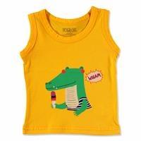 Yaz Bebek Basic Atlet Tshirt