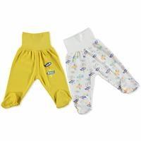 Erkek Bebek Geniş Katlanabilir Rahat Bel 2li Patikli Alt