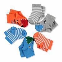 Monster Baby Socks 6 pcs