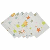 Space Organic Muslin Baby Mouth Hanky