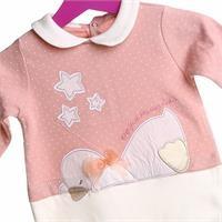 Anatra Rib Baby Girl Romper