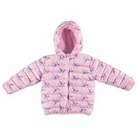 Winter Star Printed Baby Hoodie Zippered Coat