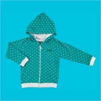 Winter Printed Baby Long Sleeve Hoodie Cardigan