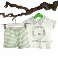 Bertin Baby Polo Neck Tshirt Short Set