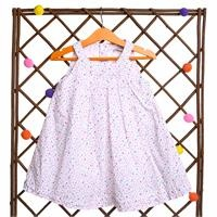 Summer Flowered Baby Girl Sleeveless Dress