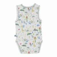 Baby Boy Crocodile Athlete Bodysuit