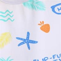 Baby Boy Pineapple Short Romper